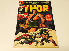 JOURNEY into MYSTERY with The MIGHTY THOR #124 Marvel Comics 1966 FN HERCULES!