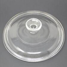 "Pyrex G-5-C Corning Dishware Glassware Cover Lid Dishware 7-3/4"" Round Casserole"