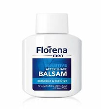 3 x FLORENA MEN AFTER SHAVE BALM 100 ml * ORIGINAL GERMAN   SHIPPING WORLDWIDE