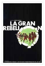 Cuban decor movie Poster 4 film The great REVOLT.Cuba military exercise art.