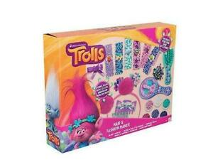 TROLLS HAIR AND FASHION MAKER DECORATE BANDS SEQUINS RIBBONS FREE DELIVERY