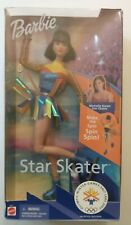 2002 Olympic Winter Games MICHELLE KWAN Ice Skater Twirling Barbie Mattel New