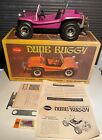 VTG Purple Cox Dune Buggy Toy Car w/ Box .49 Engine Powered 60s 70s Tools Manual