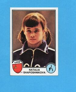 SPORT SUPERSTARS/EURO FOOTBALL 82-PANINI-Figurina n.119- SHAPOSHNIKOVA-URSS -NEW