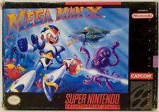 Megaman X SNES Super Nintendo Video Game no Instructions Used 1993