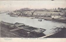 More details for the canal, sharpness to gloucester - 1907 postcard (ref 6098/21/g5)