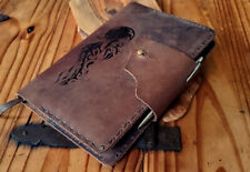 Personalised Leather A5 Notebook Cover