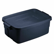 Rubbermaid Roughneck 3 Gallon Rugged Storage Tote Container - Blue