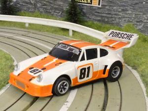 AURORA AFX / Sp. Shifter   PORSCHE 934 RSR   white - orange #81   NM   VHTF!!!