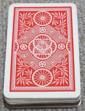 Wheel Pattern - Vintage 1920's Pack of Charles Goodall Playing Cards