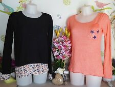"Lot vêtements occasion femme... Pull "" It Hippie "", Haut ... T : 38 / 40"
