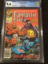 Canadian Newsstand Fantastic Four #266 Price Variant $0.75 CGC 9.6