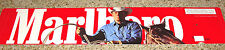 "MARLBORO MAN & HORSE CIGARETTE VENDING MACHINE CARDBOARD DISPLAY SIGN  6"" X 27"""