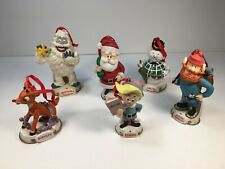 Rudolph The Movie Midwest Cannon Falls Christmas Ornament Lot Rudolph Co. 1999