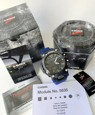 Casio G-Shock * GravityMaster GRB200-1A2 Quad Sensor Bluetooth Carbon Core Blue