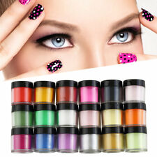 18 Colors Acrylic UV Polish Kit Decorate Manicure Powder Nail Art Set OW