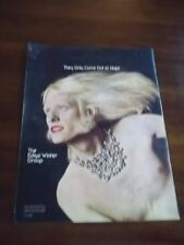 1973 Vintage Promo Print Ad for Edgar Winter Group They Only Come Out At Night