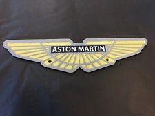 Aston Martin cast iron Sign