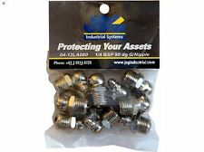 Grease Nipples 1/4 BSP 90 dg Pack Of 10
