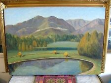 JOHN A. DOMINIQUE1893-1994 Listed Early California Plein Air Impressionist