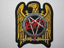SLAYER golden eagle embroidered NEW patch thrash metal