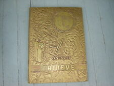 """1951 Ford City High School Yearbook """"Trireme""""  Pennsylvania"""