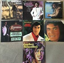 7 Engelbert Humperdinck Lp Record Vinyl Excellent Records job lot LPs 12""