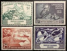 BR. SOLOMON ISLANDS 1949 UPU 75th. Anniversary set MINT NH