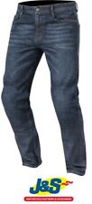 Alpinestars Duple Kevlar DuPont Denim Motorcycle Jeans CE Rough Blue Was £169.99