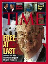 TIME Magazine 2000 OCTOBER 16 Free at Last Debates Days of Rage