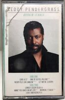 Teddy Pendergrass Workin' It Back Cassette Tape E4-60447