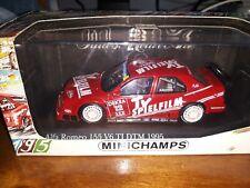Minichamps 1/43 Alfa Romeo 155 V6 TI #12 DTM Presentation 1995 M. Alboreto
