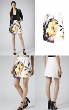 Topshop Stretch, Bodycon Short/Mini Floral Skirts for Women