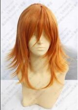 HOT~ COS Jinguuji Ren New Long Cosplay Orange Wig   AE191
