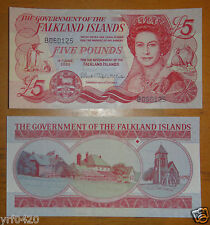 Falkland Islands Banknote 5 Pounds 2005 UNC