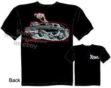 Hot Rod Hearse T shirt Monster Racing Shirt Kustom Kulture Tee Sz M L XL 2XL 3XL