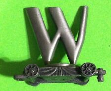 Fort Pewter < Lasting Expressions > Pewter Train Car Letter W