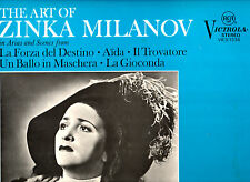 The Art Of Zinka Milanov * RCA 1968 * Arias and Scenes * Aida * Il Trovatore