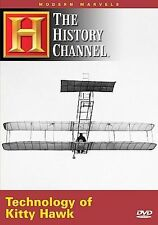 MODERN MARVELS - THE TECHNOLOGY OF KITTY HAWK NEW AND SEALED