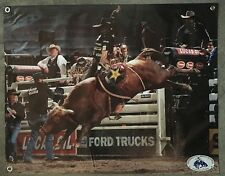 Rodeo bull riding banner cowboy steer rope saddle poster hat glove boot vest A20