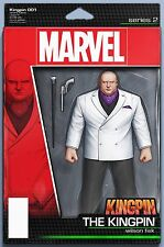 KINGPIN 1 JOHN TYLER CHRISTOPHER ACTION FIGURE VARIANT NM