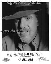Ray Benson Audium Records Original Press Photo