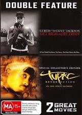 Get Rich or Die Tryin'-50 Cent / Tupac: Resurrection-Double Feature DVD-2PACK009
