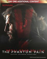 METAL GEAR SOLID V THE PHANTOM PAIN DLC PS3 DAY 1 ADDITIONAL CONTENT