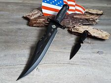 Bowie Mega machete Tomahawk Hunting Knife coltello cespuglio Costello macete FIERA NUOVO