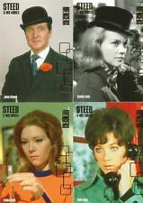 Avengers Series 2 Full Four Card Steed & His Ladies Chase Set