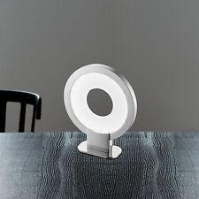 Wofi LED Tischleuchte Lee Nickel Chrom Schalter Moderne Design Lampe 3,5 W NEU