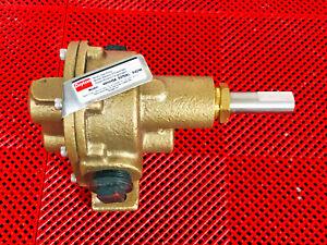 "Dayton 4KHH5A Rotary Gear Pump, 3/4"" NPT, 1725 RPM, 100 PSI, Bronze"