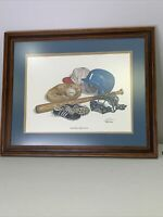 C. DON ENSOR Little Shoes Big Dreams Framed Limited Edition Print