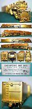 Chesapeake & Ohio C&O 1633 H-8 2-6-6-6 Fuji Crown Can Motor Brass UP HO BA21.65